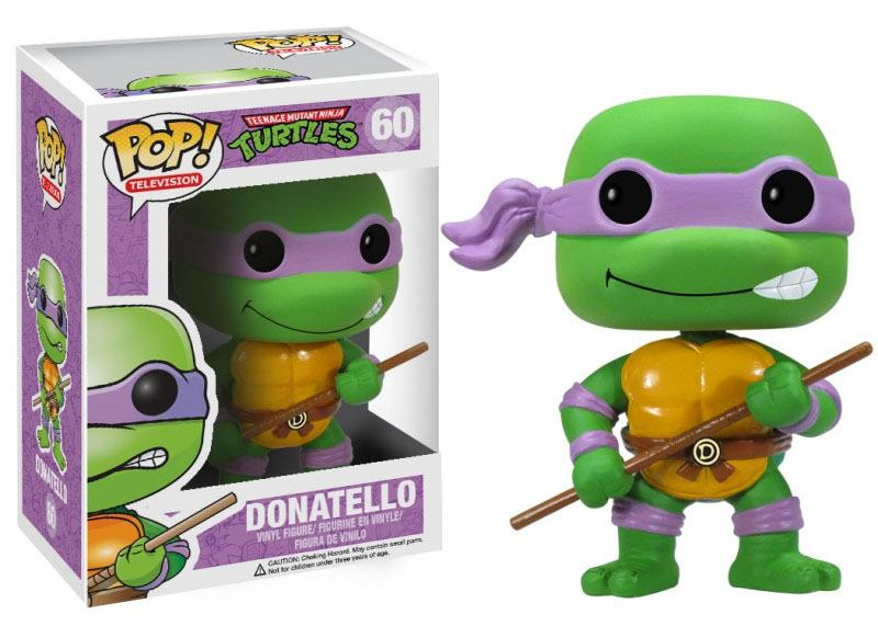 Teenage Mutant Ninja Turtles POP! Vinyl Figure Donatello 10 cm