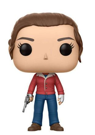 Stranger Things POP! TV Vinyl Figure Nancy (with Gun) 9 cm