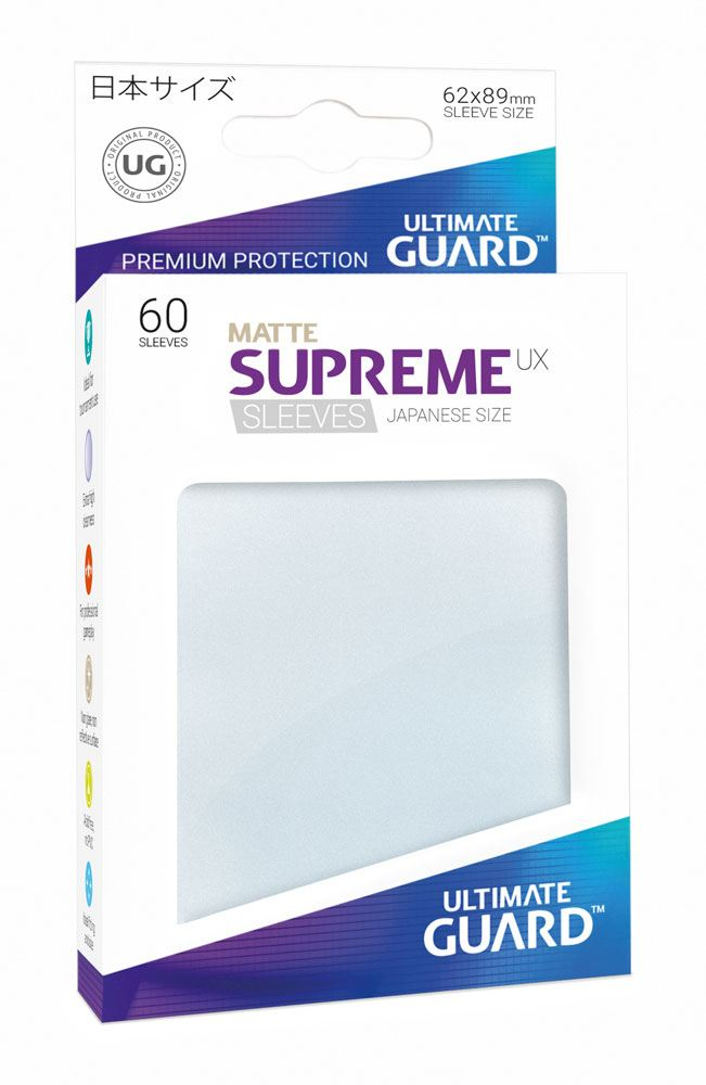 Ultimate Guard Supreme UX Sleeves Japanese Size Matte Frosted (60)