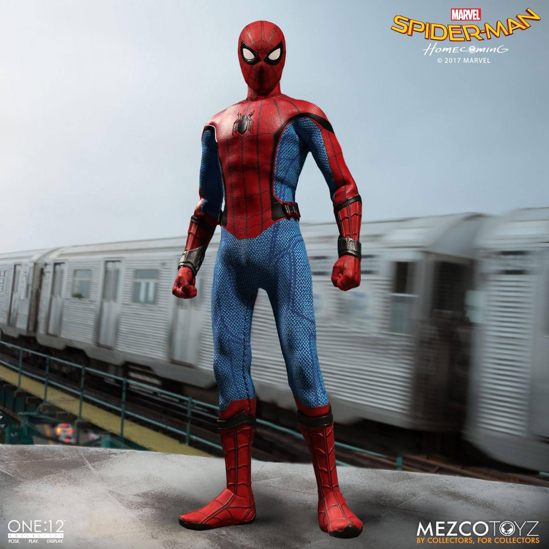 Spider-Man Homecoming Action Figure 1/12 Spider-Man 16 cm