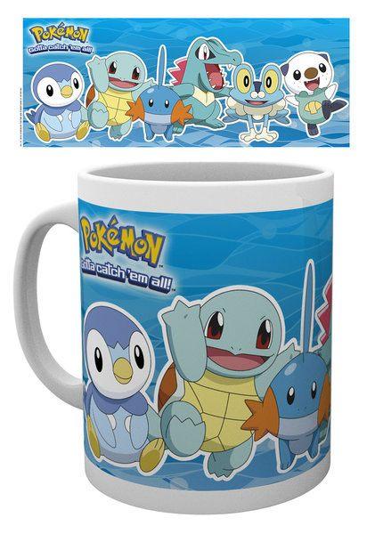 Pokemon Mug Water Partners