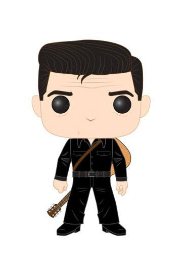 Johnny Cash POP! Rocks Vinyl Figure Johnny Cash in Black 9 cm