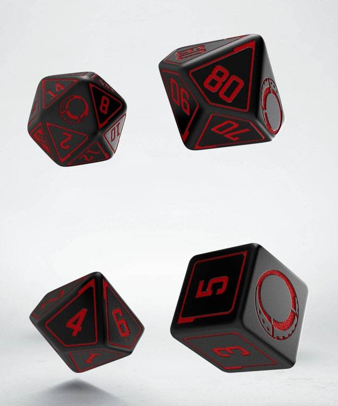 Cypher System RPG Dice Set (4)