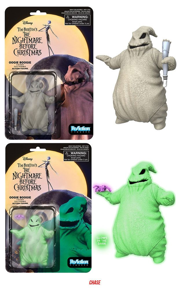 Nightmare Before Christmas ReAction Action Figures 10 cm Oogie Boogie Assortment (6)