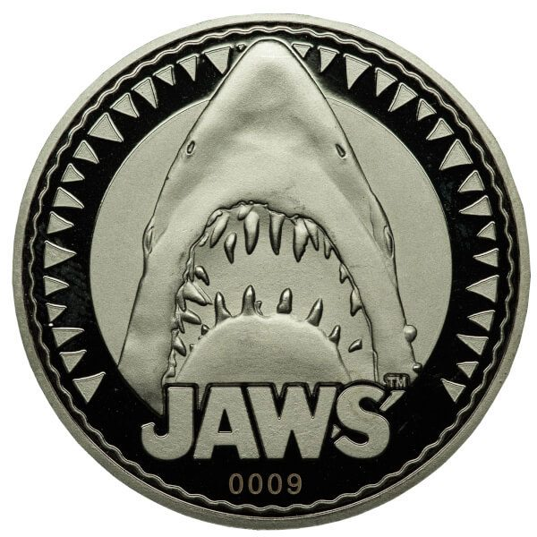 Jaws Collectable Coin Logo / You're Gonna Need A Bigger Boat