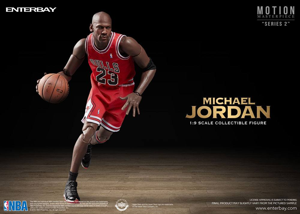 NBA Collection Motion Masterpiece Actionfigur 1/9 Michael Jordan 23 cm