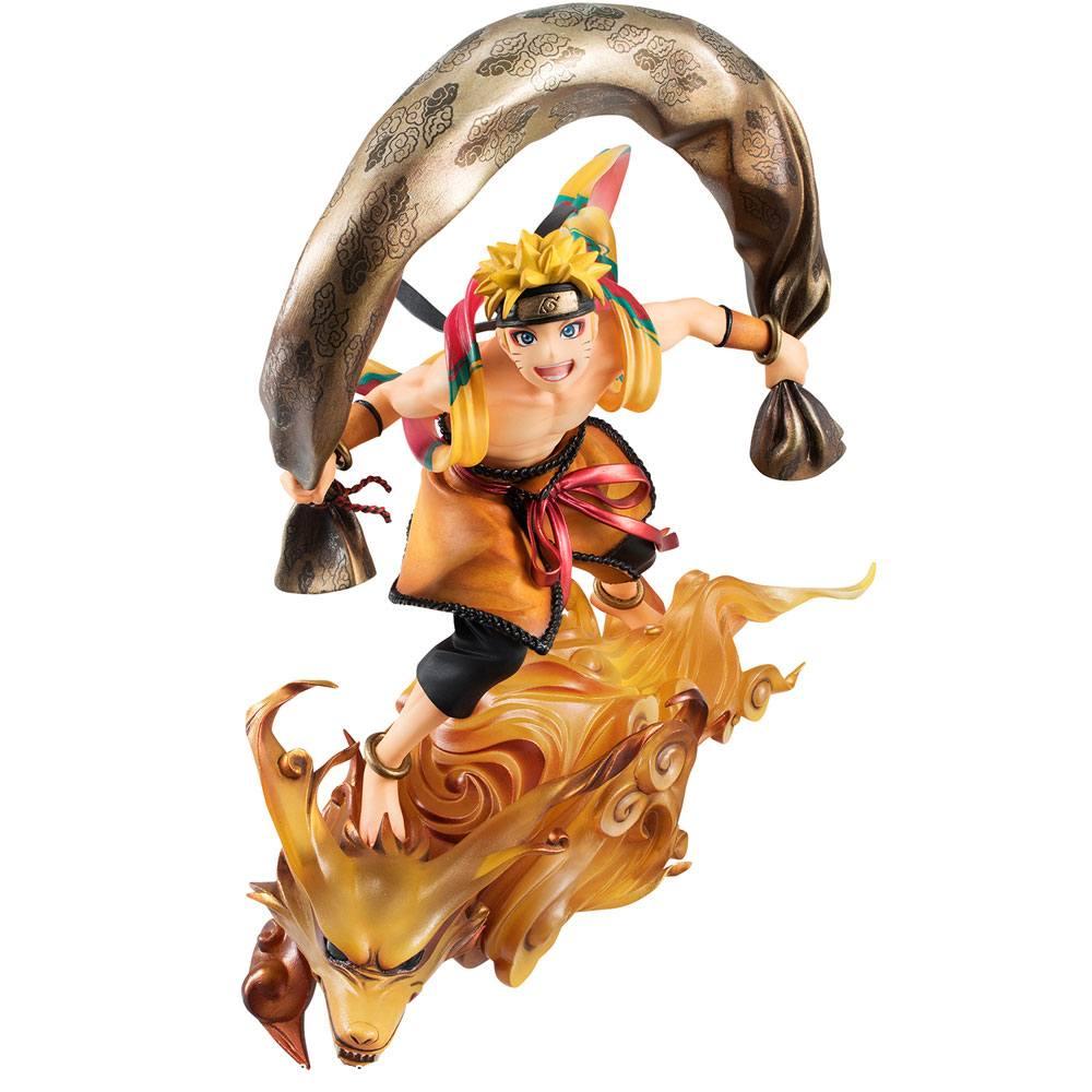 Naruto Shippuden G.E.M. Remix Series PVC Statue 1/8 Naruto Uzumaki Fujin 18 cm