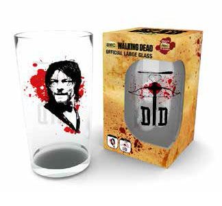 Walking Dead Pint Glass Daryl