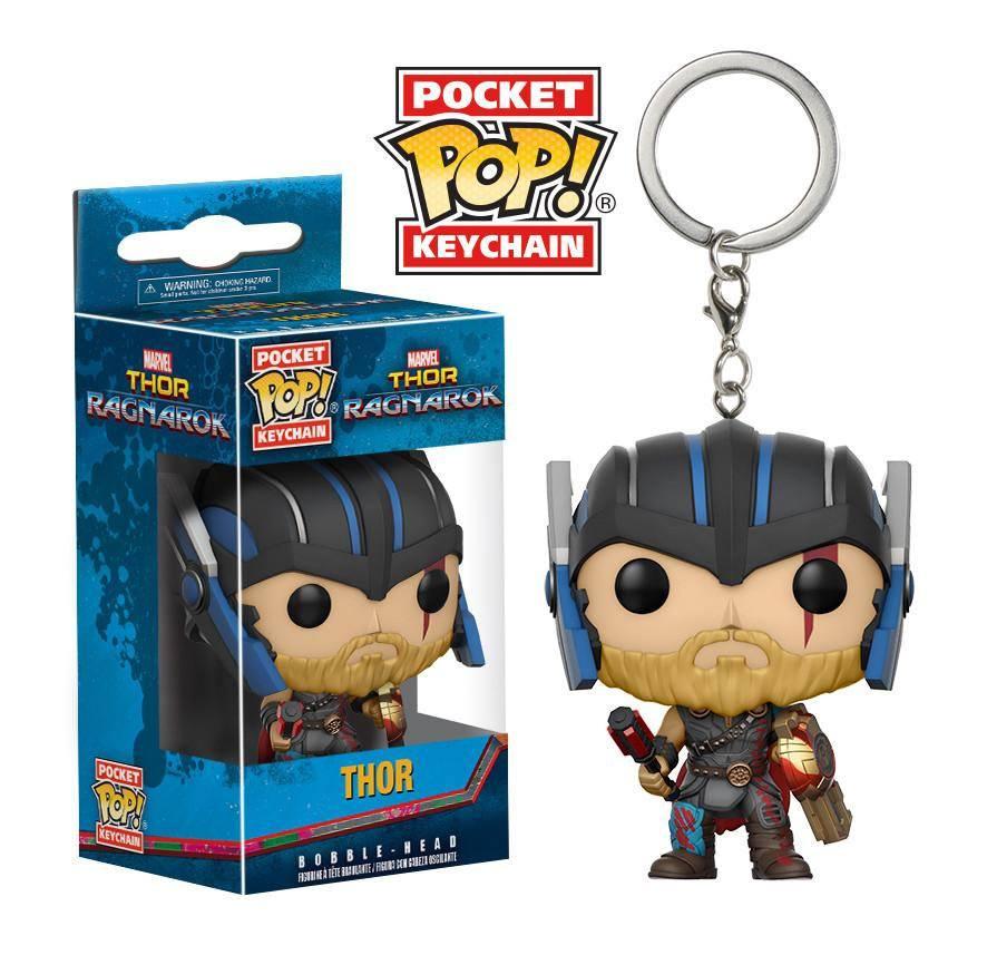 Thor Ragnarok Pocket POP! Vinyl Keychain Thor (Gladiator Suit) 4 cm