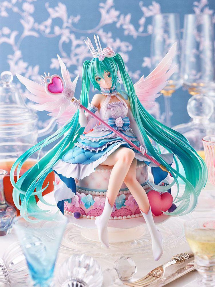 Miku Hatsune PVC Statue 1/7 Miku Hatsune Birthday 2020 Sweet Angel Ver. 22 cm