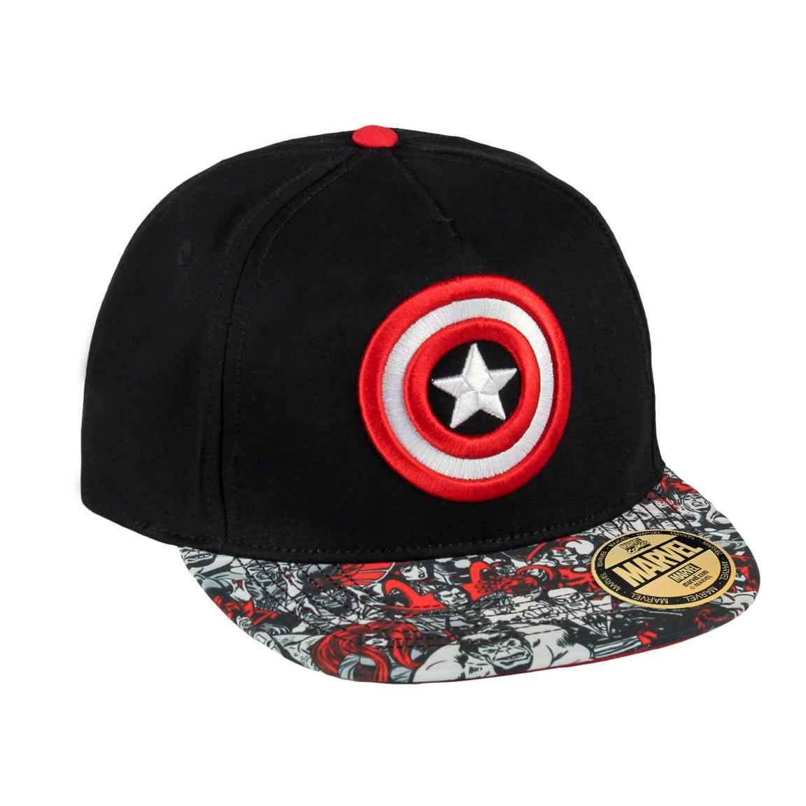 Marvel Comics Cap Captain America Shield Logo