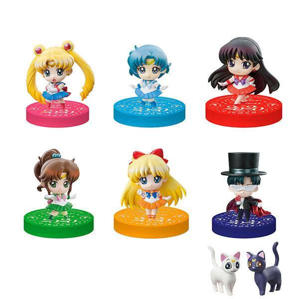 Sailor Moon Petit Chara Trading Figure Puchitto Oshioki yo! 2020 Ver. Limited Set 5 cm