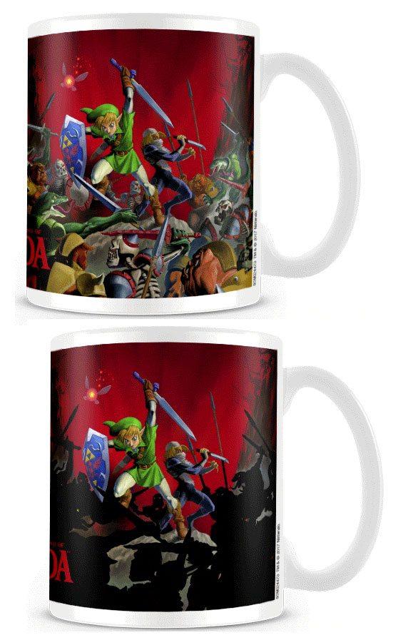 Legend of Zelda Heat Change Mug Battle
