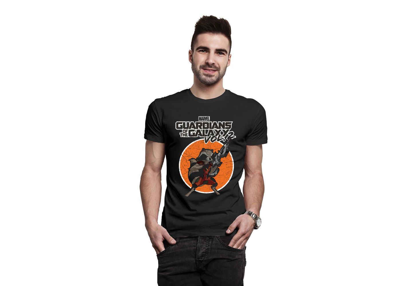 Guardians of the Galaxy T-Shirt Rocket Size XXL