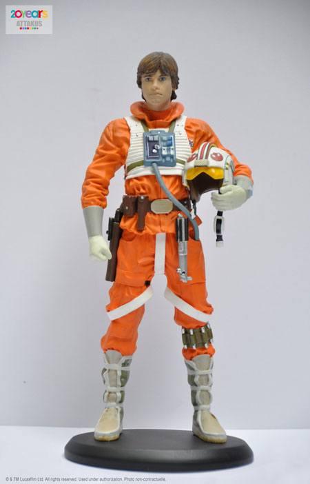 Star Wars Episode V Elite Collection Statue Luke Snowspeeder Pilot 18 cm