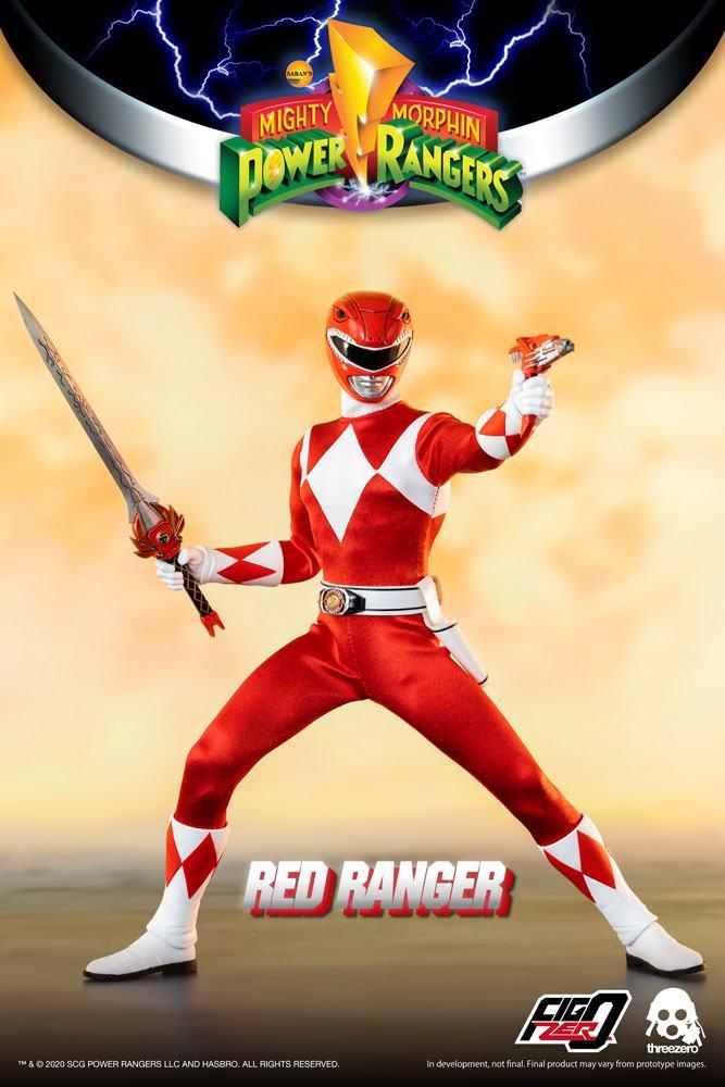 Mighty Morphin Power Rangers FigZero Action Figure 1/6 Red Ranger 30 cm