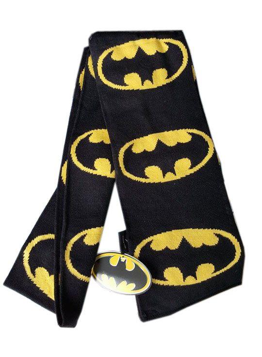 Batman Scarf Logos