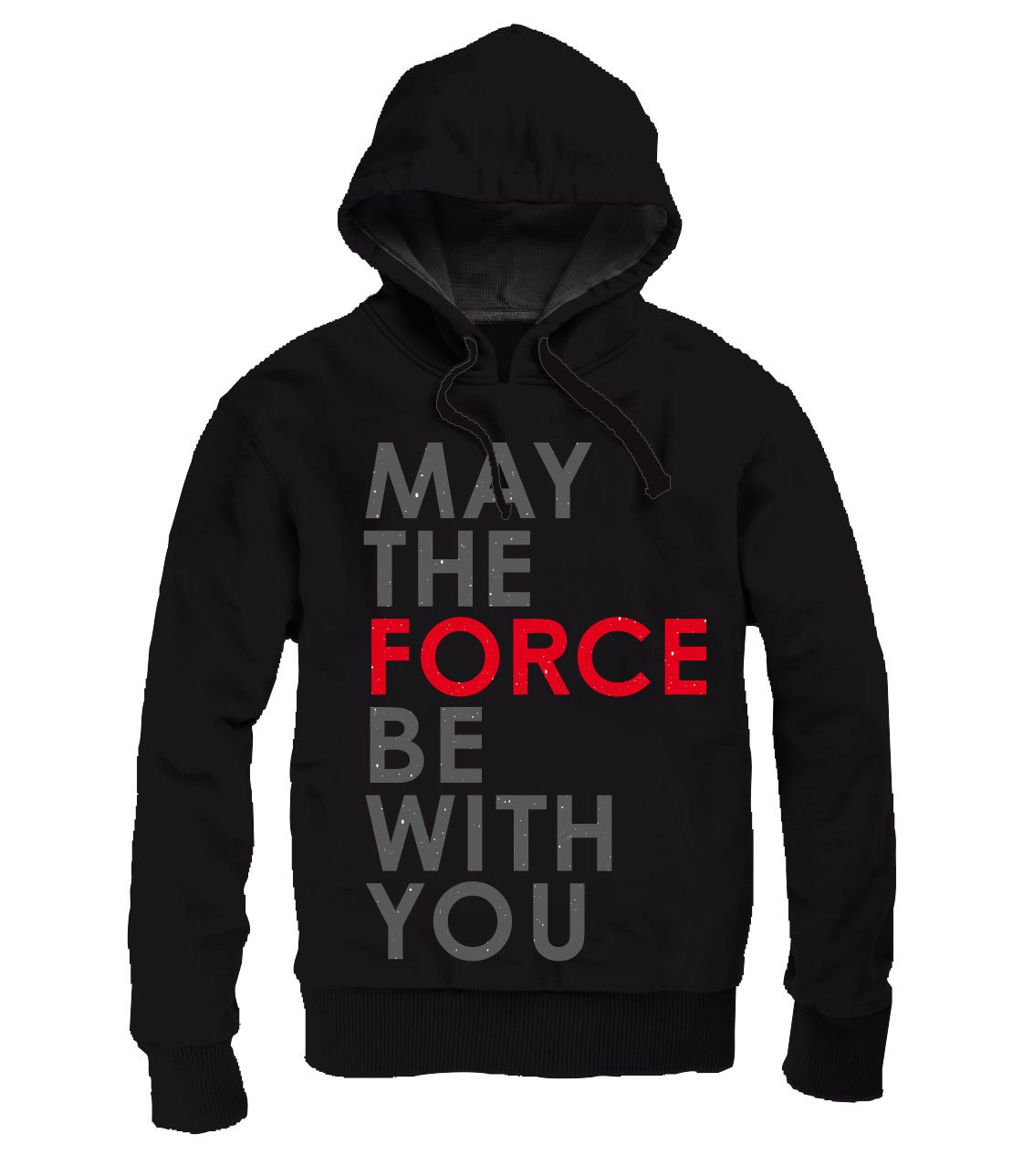 Star Wars Episode VIII Hooded Sweater May The Force Be With You Size S