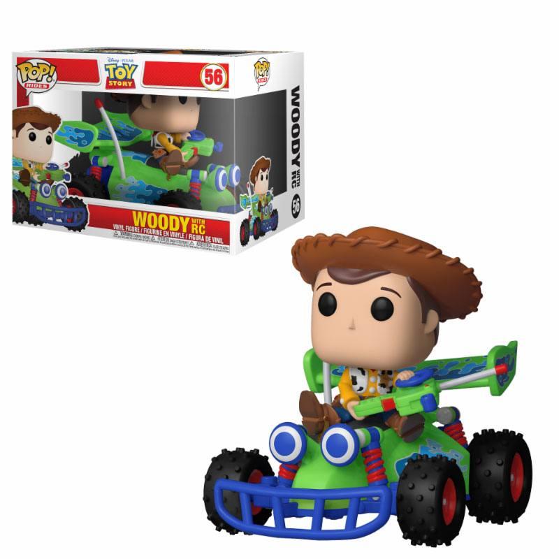 Toy Story POP! Rides Vinyl Figure Woody & RC 15 cm