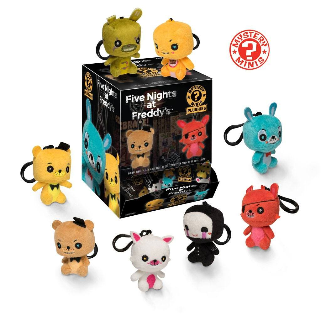 Five Nights at Freddy's Mystery Mini Plushies Plush Keychain 7 cm Display (18)