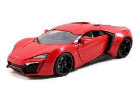 Fast & Furious 7 Diecast Model 1/18 2014 Lykan Hypersport