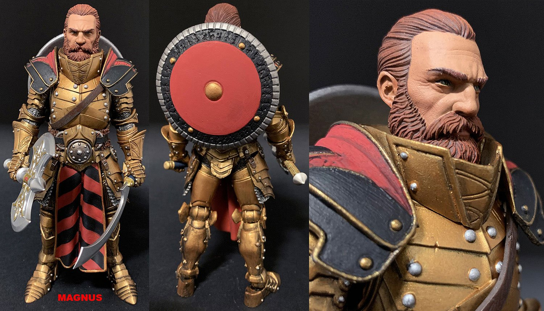 Mythic Legions: Arethyr Actionfigur Magnus 15 cm