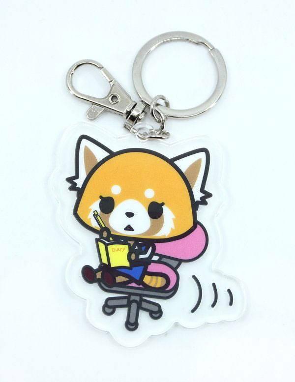 Aggretsuko Acrylic Keychain Retsuko 6 cm