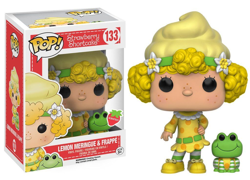 Strawberry Shortcake POP! Animation Vinyl Figure Lemon Meringue & Frappe 9 cm
