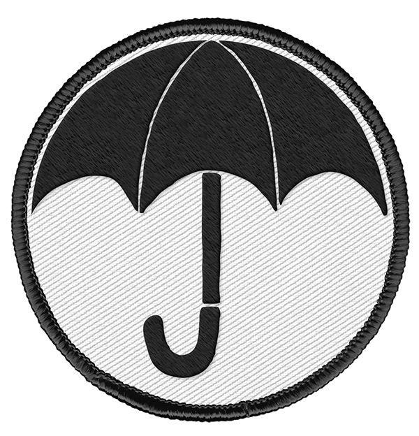 The Umbrella Academy Patch Logo 6 cm