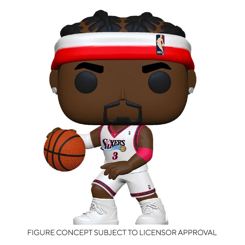 NBA Legends POP! Sports Vinyl Figure Allen Iverson (Sixers Home) 9 cm