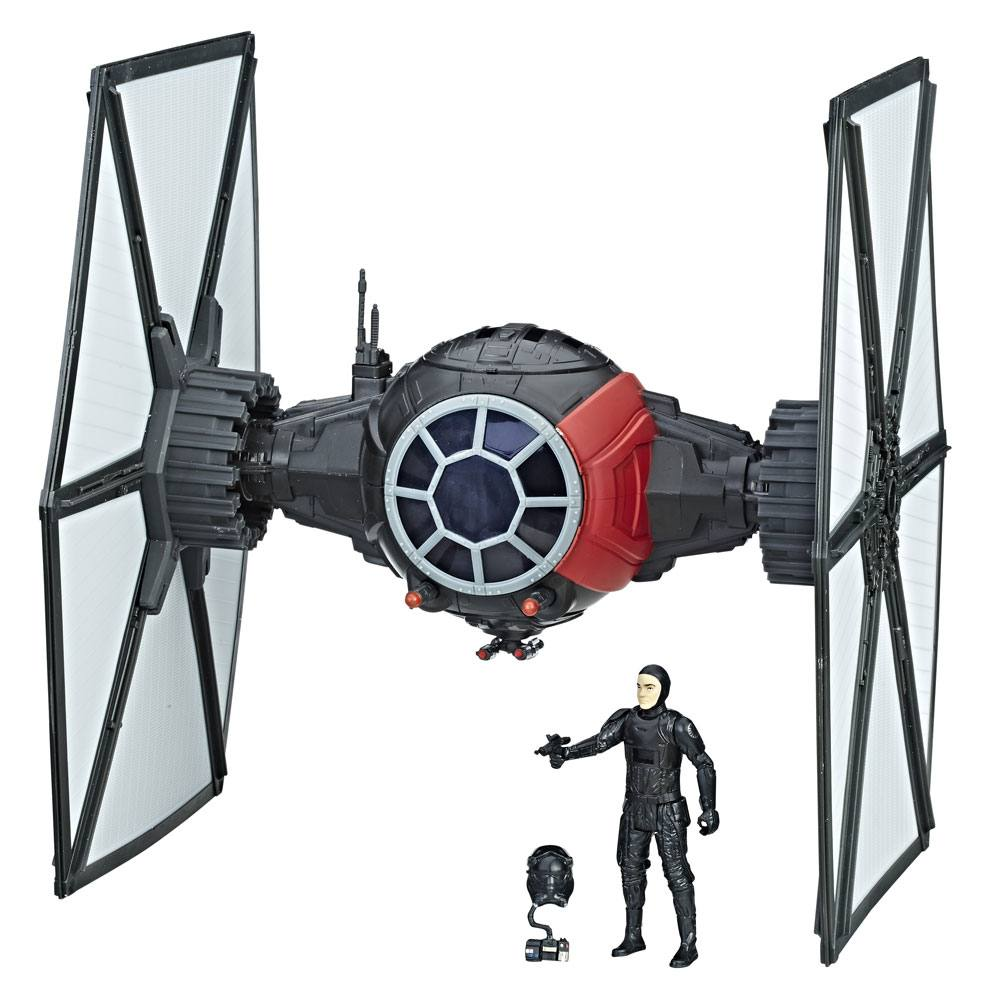 Star Wars Episode VIII Vehicle with Figure 2017 First Order Special Forces TIE Fighter