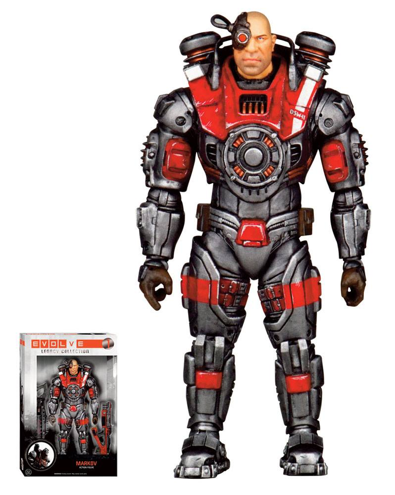 Evolve Legacy Collection Action Figure Markov 15 cm