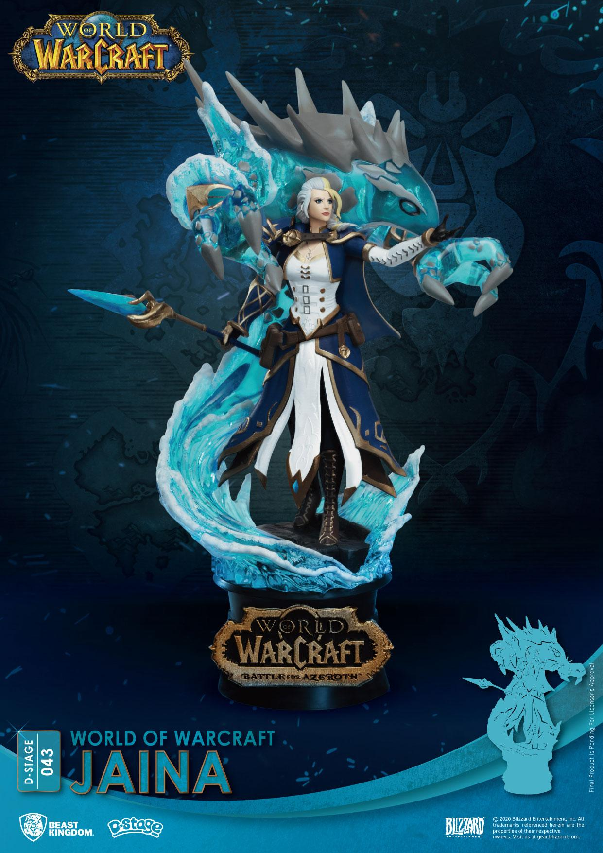 World Of Warcraft D-Stage PVC Diorama Jaina 16 cm