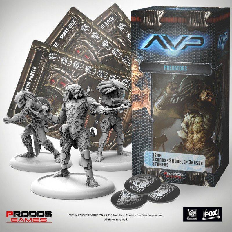 AvP Tabletop Game The Hunt Begins Expansion Pack Predators