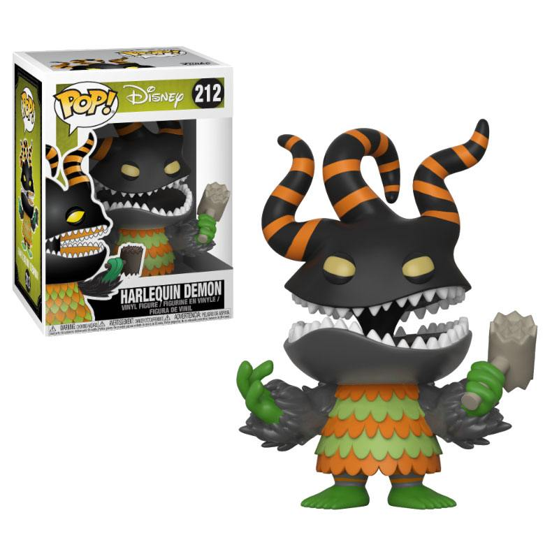 Nightmare before Christmas POP! Movies Vinyl Figure Harlequin Demon 9 cm