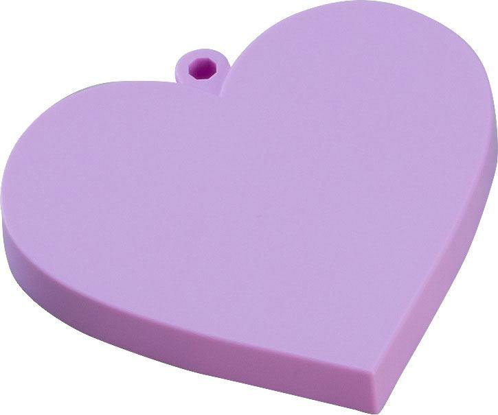 Nendoroid More Face Parts Case for Nendoroid Figures Heart Purple Version