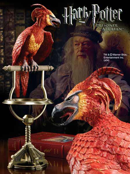 Harry Potter Statue Fawkes the Phoenix 35 cm