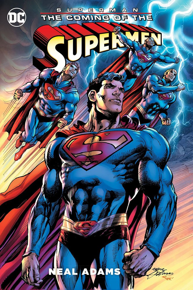 DC Comics Comic Book Superman The Coming of the Supermen by Neal Adams english
