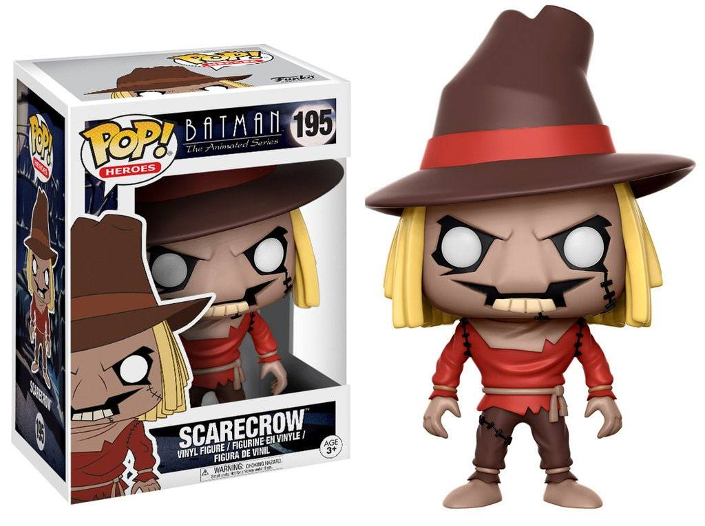 Batman The Animated Series POP! Heroes Figure Scarecrow 9 cm