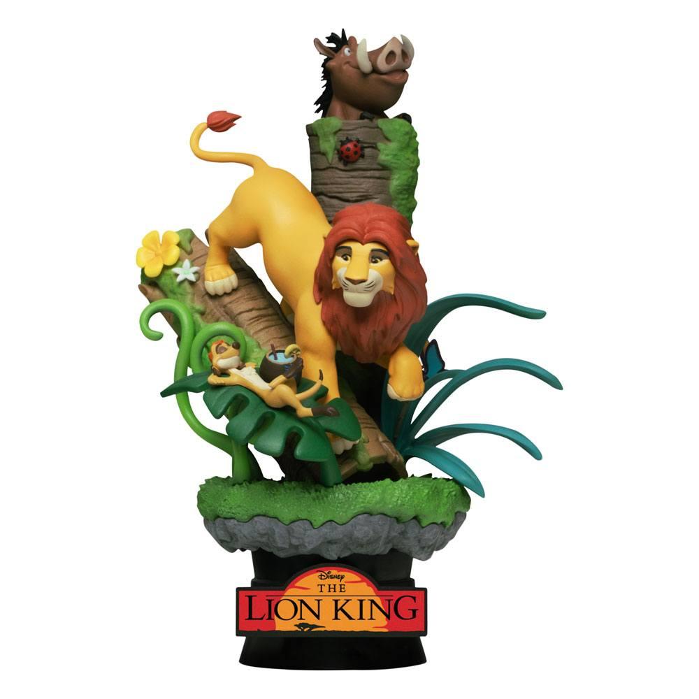 Disney Class Series D-Stage PVC Diorama The Lion King New Version 15 cm