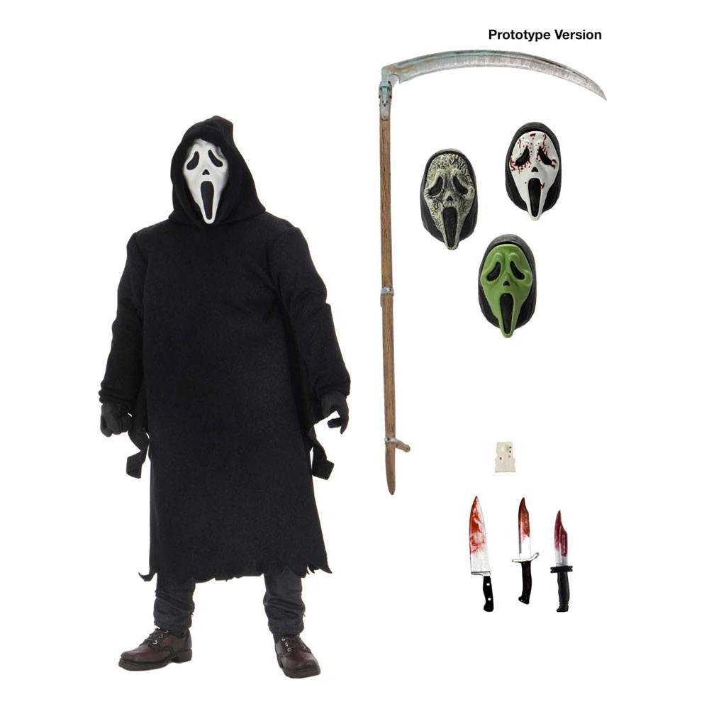 Scream Action Figure Ultimate Ghostface 18 cm