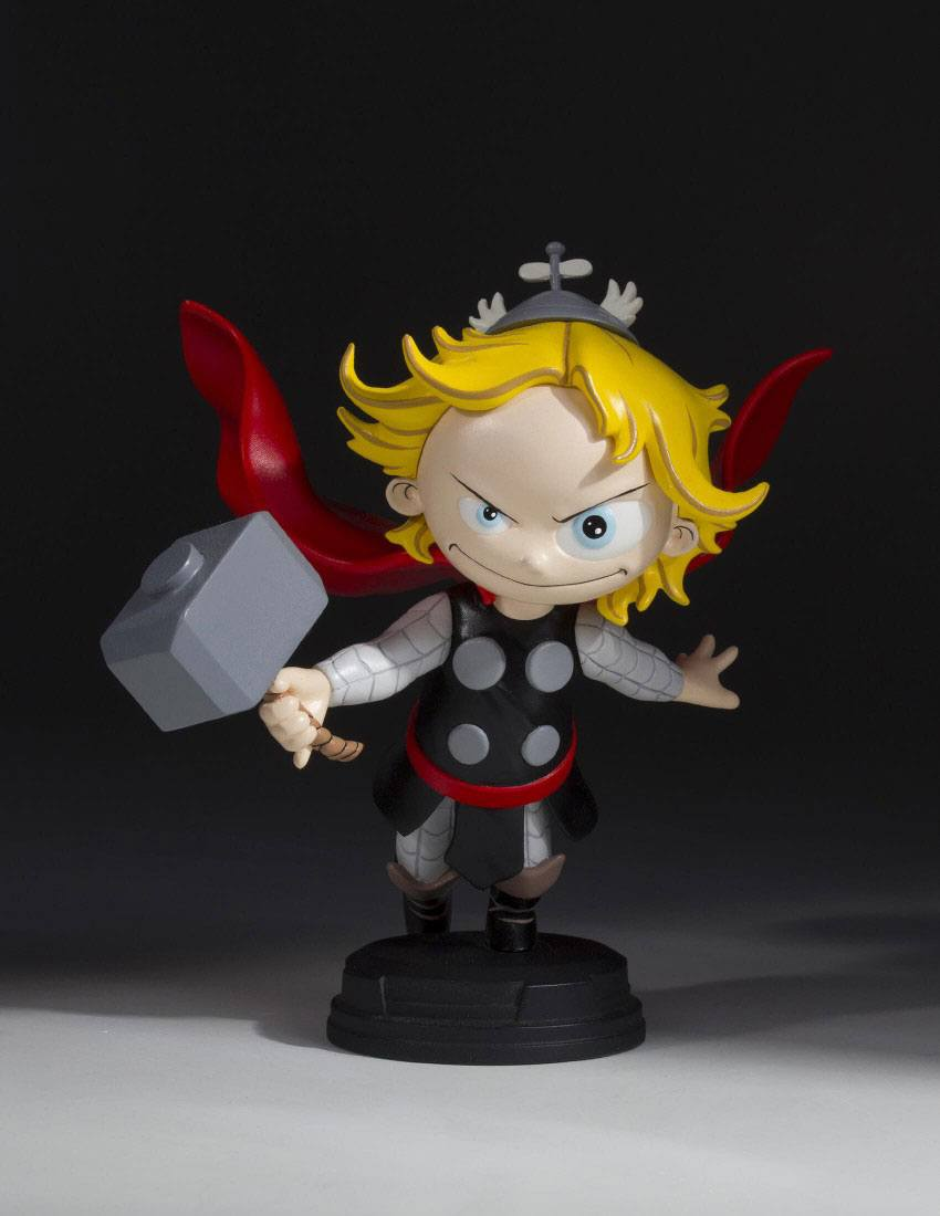 Marvel Comics Animated Series Mini-Statue Thor 12 cm