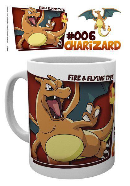 Pokemon Mug Charizard Type