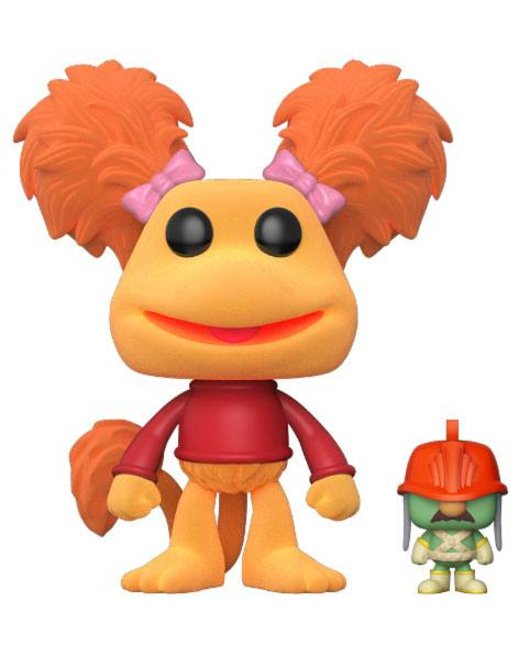 Fraggle Rock POP! Television Vinyl Figure Red with Doozer Flocked 9 cm