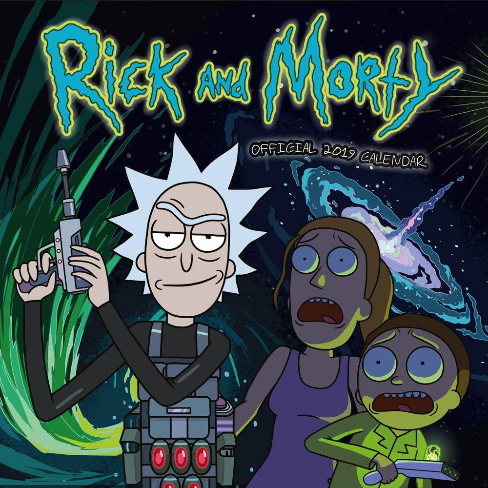Rick & Morty Calendar 2019 English Version*