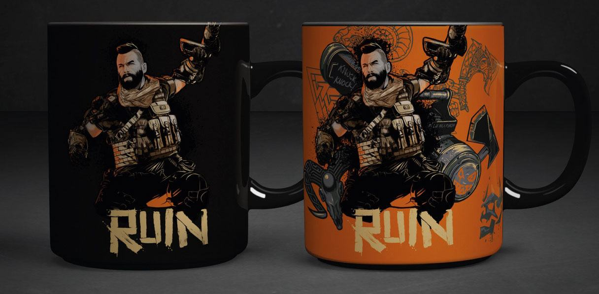 Call of Duty Black Ops 4 Heat Change Mug Ruin