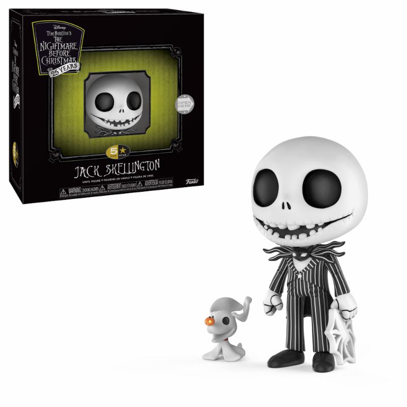 Nightmare before Christmas 5-Star Vinyl Figure Jack Skellington 9 cm