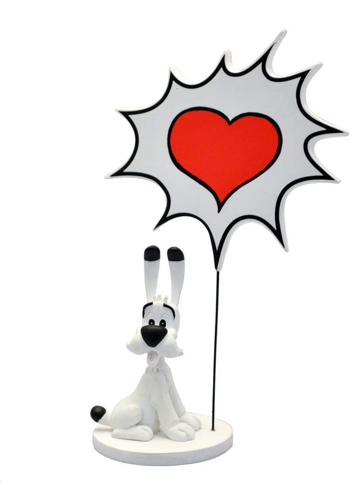 Asterix Collectoys Comics Speech Statue Dogmatix Love 18 cm