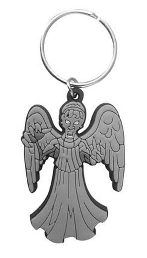 Doctor Who Rubber Keychain Weeping Angel 7 cm