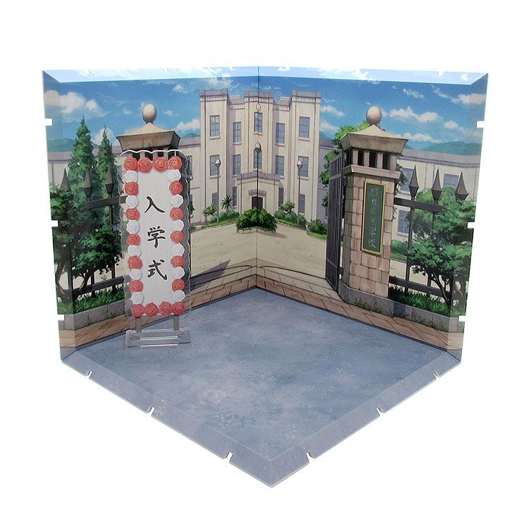 Dioramansion 150 Decorative Parts for Nendoroid and Figma Figures School Front Gate